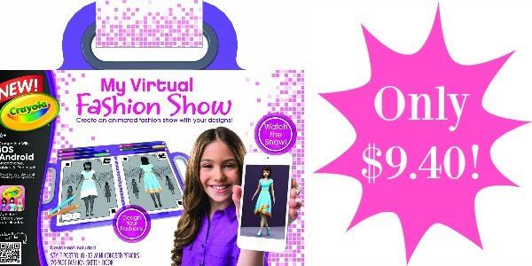 Crayola's My Virtual Fashion Show