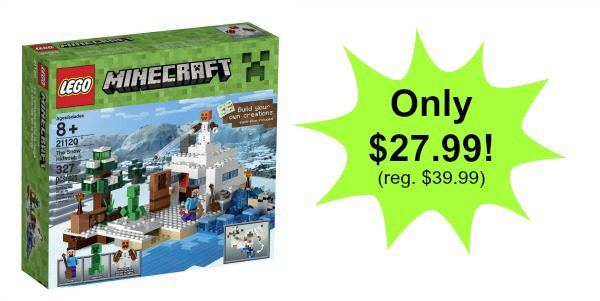 LEGO Minecraft the Snow Hideout Building Kit