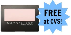FREE Maybelline Cosmetics at CVS!