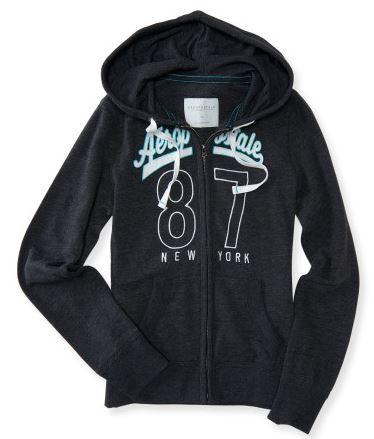 aero zip hoodie