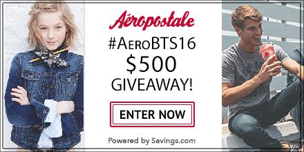 aeropostale bts giveaway