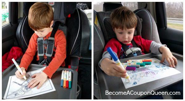 boys road trip coloring