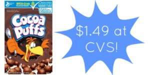 CVS: Cocoa Puffs Cereal Only $1.49!
