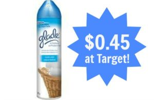 Target: Glade Room Spray Only $0.45!