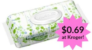 Kroger: Huggies Wipes Only $0.69!