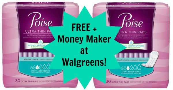 poise ultra thin pads 30 count