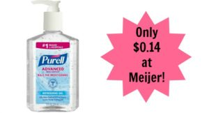 Meijer: Purell Hand Sanitizer Only $0.14!