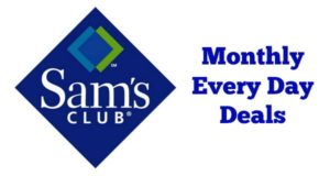 Sam's Club Everyday Deals – August 2017