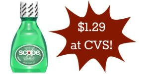 CVS: Scope Mouthwash Only $1.29!