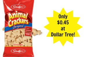 Dollar Tree: Stauffer's Animal Crackers Only $0.45!