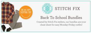 Gymboree Back to School Bundles Created by Stitch Fix!