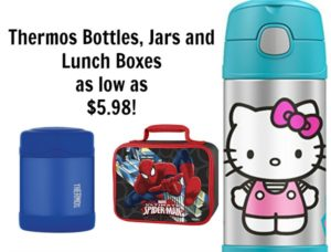 Today Only! Thermos Bottles, Jars, and Lunch Bags as low as $5.98!