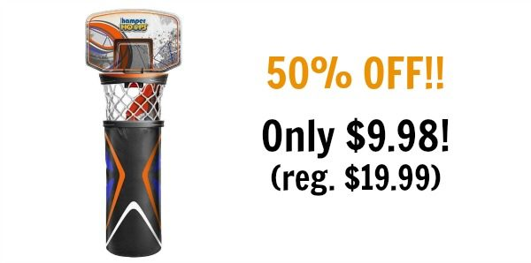 Hamper hoops by wham o only reg become a coupon queen - Basketball hoop laundry hamper ...