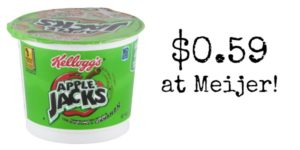 Meijer: Apple Jacks Cereal Only $0.59!