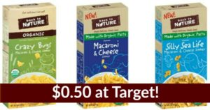 Target: Back To Nature Mac & Cheese Only $0.50!