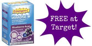 FREE Emergen-C Drink Mix at Target!