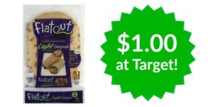 Target: Flatout Flatbread Only $1.00!