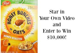 Enter to Win $10,000 in the Honey Bunches of Oats THIS. IS. EVERYTHING. Contest! #ad