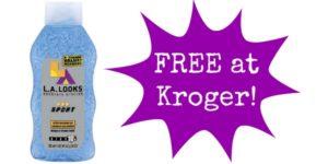FREE LA Looks Hair Gel at Kroger!