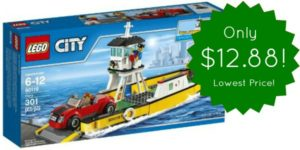 LEGO CITY Ferry Only $12.88 – Lowest Price! (reg. $30)