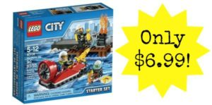 LEGO CITY Fire Starter Set Only $6.99!