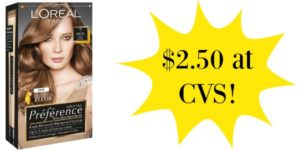 CVS L'Oreal Hair Color Only $2.50!