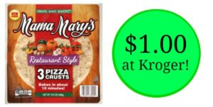 Kroger: Mama Mary's Pizza Crust 3-count Only $1.00!