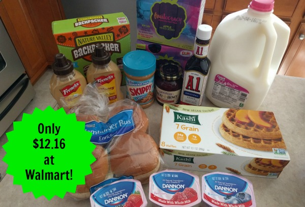 Walmart Shopping Trip – Spent $12.16 on 14 Items!