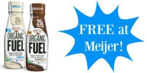 FREE Organic Valley Milkshakes at Meijer!