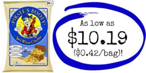 Pirate's Booty Aged White Cheddar 24 Pack as low as $0.42 a Bag SHIPPED!