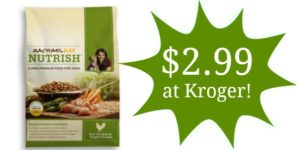 Kroger: Rachael Ray Nutrish Dog Food Only $2.99!