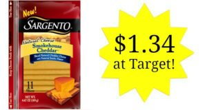 Target: Sargento Natural Cheese Slices Only $1.34!