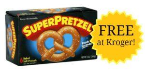 Kroger: SuperPretzel Baked Soft Pretzels Only $0.99!