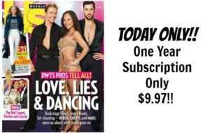 US Weekly One Year Subscription Only $9.97!