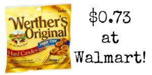 Walmart: Werther's Original Caramels Only $0.73!