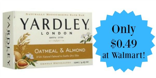 Walmart: Yardley Bar Sap Only $0 49! - Become a Coupon Queen