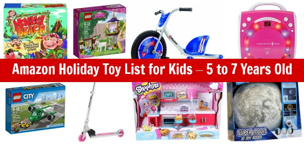 Toys For Kids 5 7 : Amazon holiday toy list for kids to years old