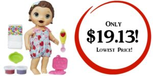 Baby Alive Super Snacks Snackin' Lily Doll Only $19.13 (Reg. $44)! Lowest Price!