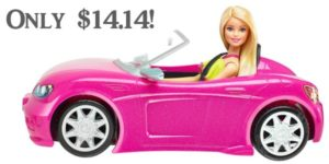 Barbie Glam Convertible Only $14.14!
