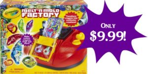 Crayola Melt 'N Mold Factory Only $9.99! (Reg. $50)!