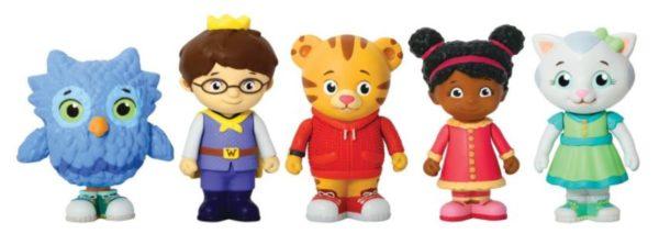 Daniel Tiger's Neighborhood Friends Figures Set