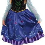 Frozen Anna Deluxe Girl's Costume Only $9.99!
