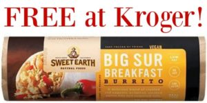 FREE Sweet Earth Breakfast Burritos at Kroger!