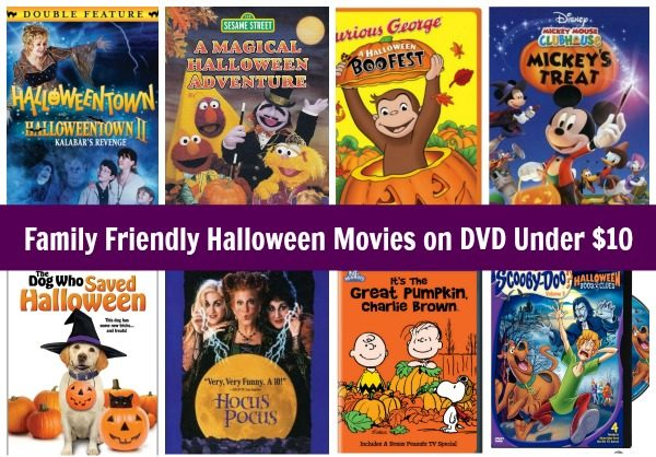 Family Friendly Halloween Movies on DVD Under $10! - Become a ...