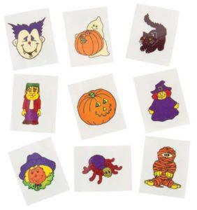 6-Dozen Glow-In-The-Dark Halloween Tattoos Only $4.32! Great Alternative to Candy!