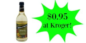 Kroger: Holland House Cooking Wine Only $0.95!