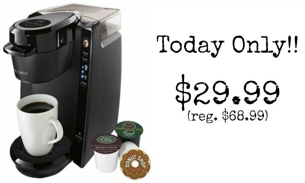 Family Dollar K Cup Coffee Maker : Mr. Coffee Single-Cup Coffeemaker - USD 29.99 Today Only! (reg. USD 68.99) - Become a Coupon Queen
