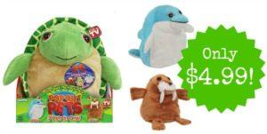 Pop Out Pets Ocean – Turtle, Dolphin & Walrus Only $4.99! (reg. $19.99)