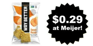 Meijer: Way Better Chips Only $0.29!
