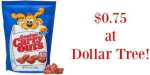 Dollar Tree: Canine Carryouts Dog Treats Only $0.75!